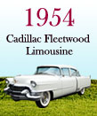 Cadillac Fleetwood Limousine 1954